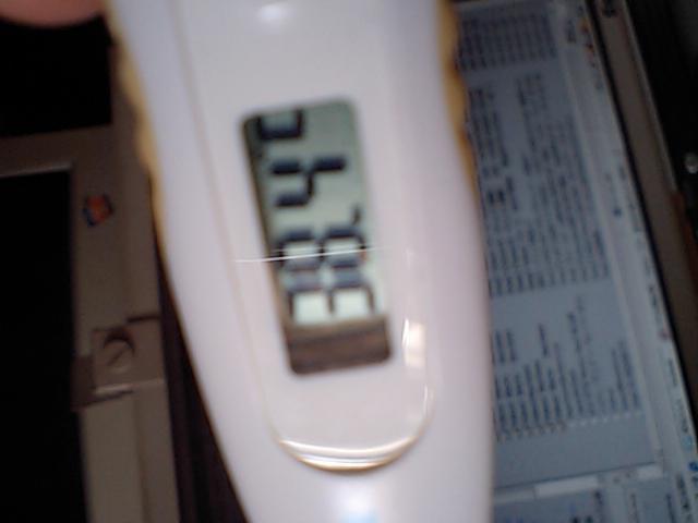 38度超えた(+_+)