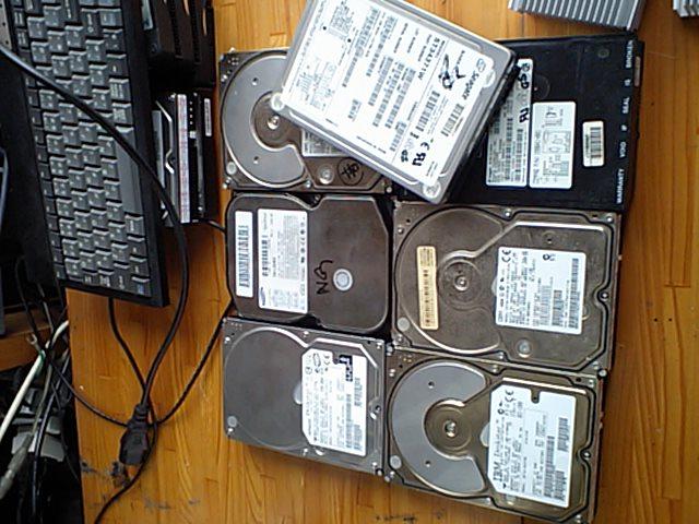 廃棄HDD