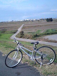 天気がいい日は自転車に乗ろう