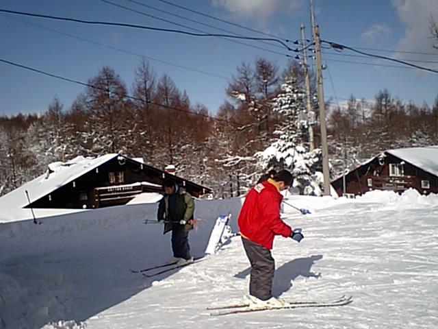 スキー…ではなく