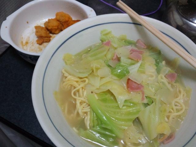 昼食。長崎ちゃんぽん