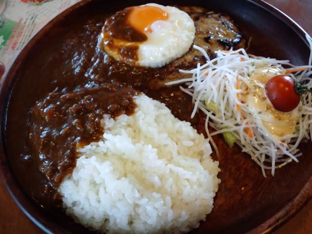 昼食〜カレーバーグディッシュ