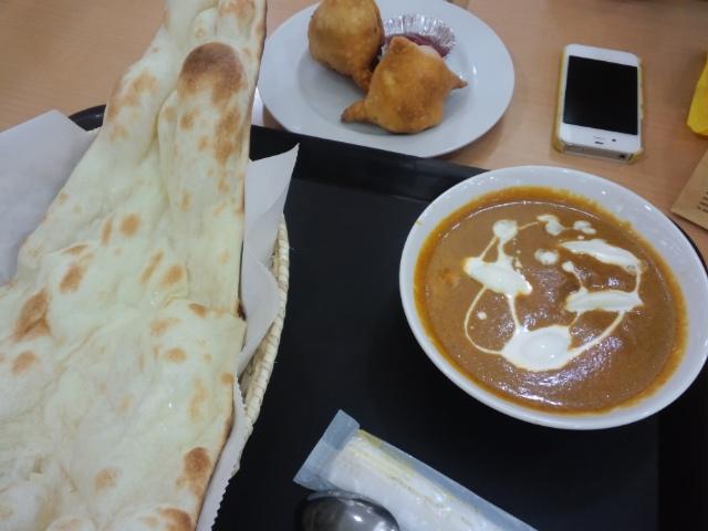 西友にインド料理屋ができたのでご祝儀がわりに食ってみる
