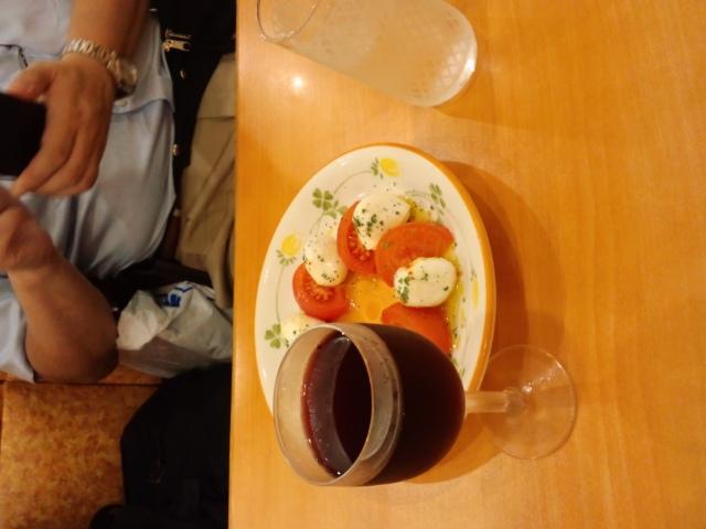 夕食は当然、イタ飯である(^o^)